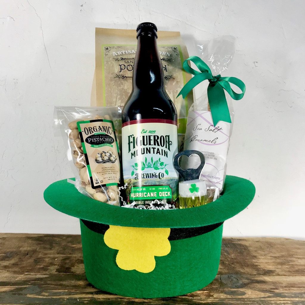 St Patrick's Day Beer Hat