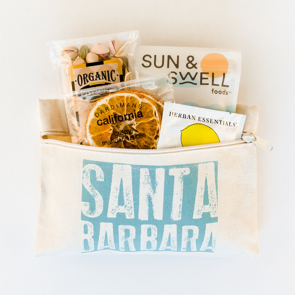 Welcome to Santa Barbara Travel Pouch