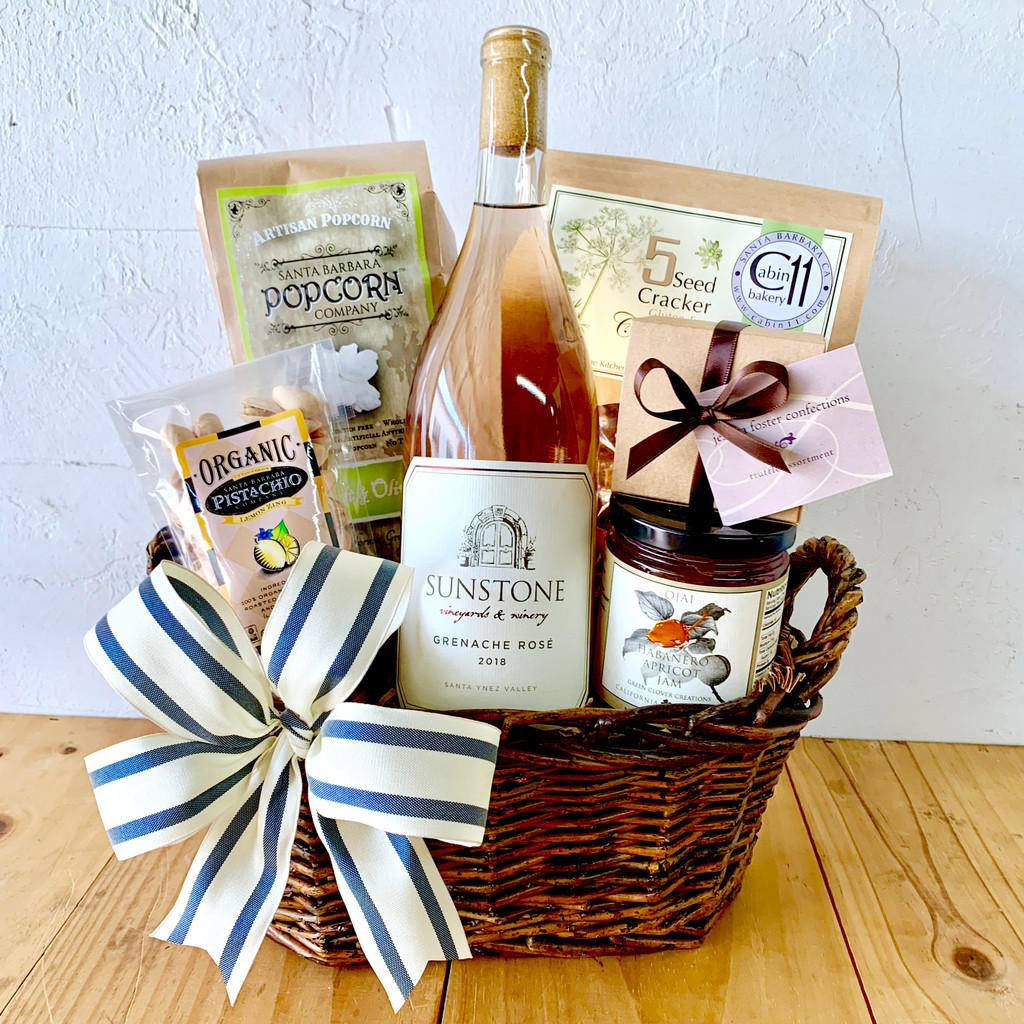 Sunstone Grenache Rose Basket