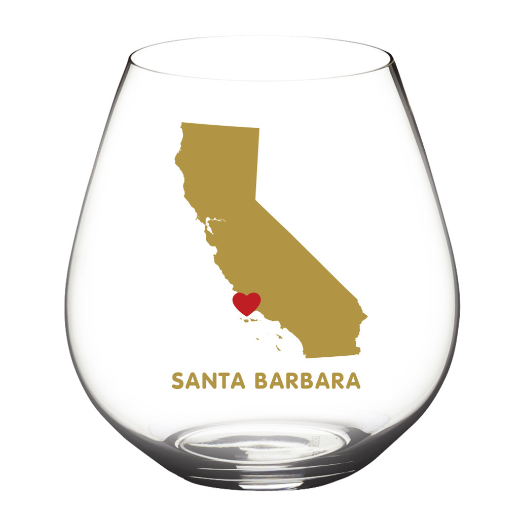 Santa Barbara Shatterproof Wine Glasses