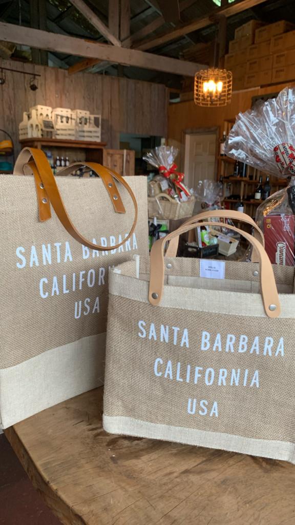 Santa Barbara Global Citizen Wine Tote from Apolis (Natural)