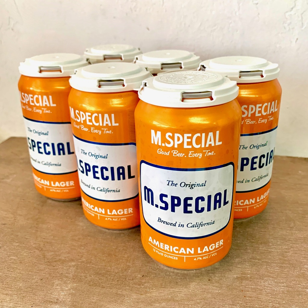 M.Special American Lager Six Pack Cans