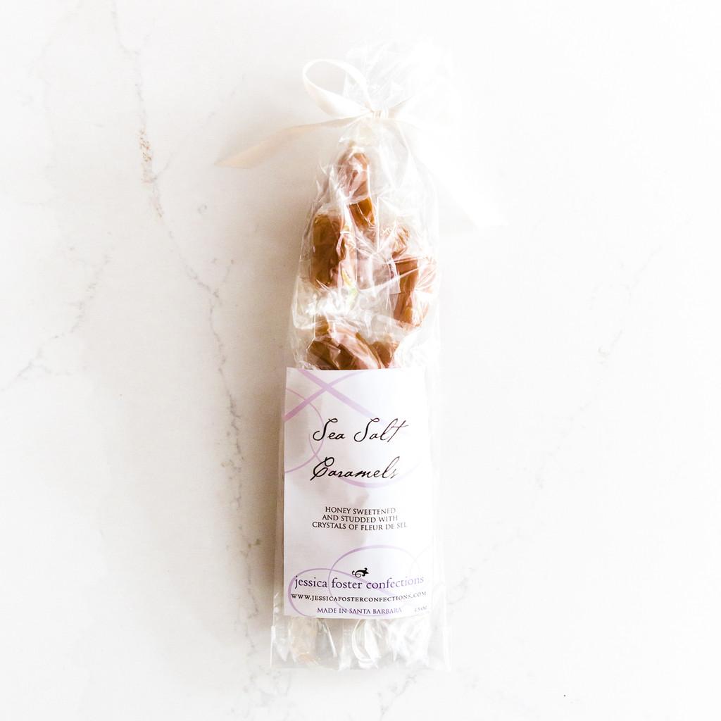 Jessica Foster Sea Salt Caramels (1 Dz Bags)