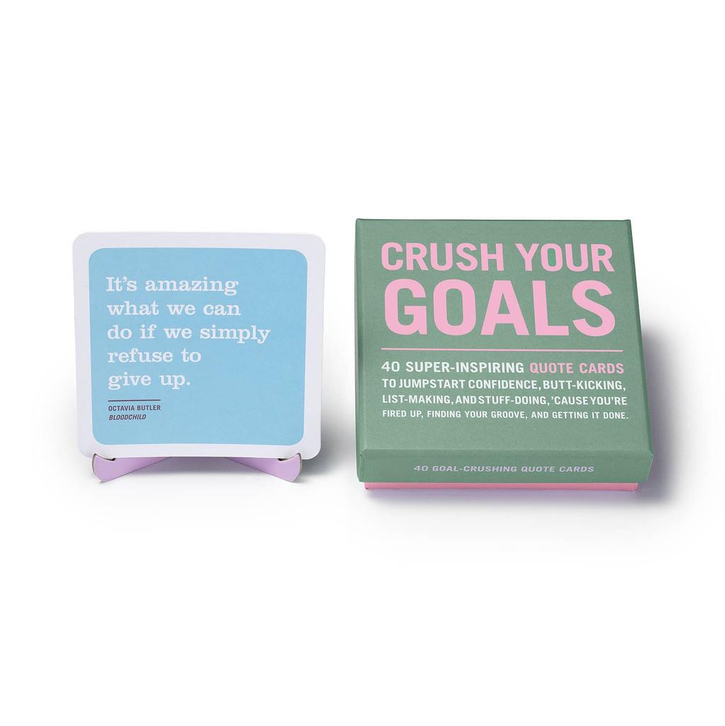 Crush Your Goals Inner-Truth Deck