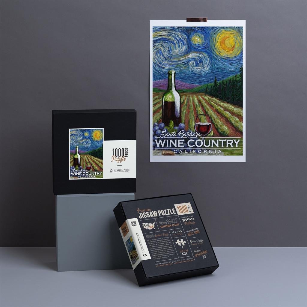 Santa Barbara Wine Country Puzzle