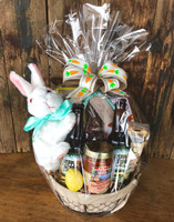 Hoppy Poppy Easter Basket Wrapped