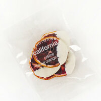 Dardimans California Crisp Blood Oranges Dipped in White Chocolate