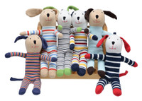 Under the Nile Scrappy toys are made from 100% Egyptian Cotton. Colors and patterns may vary.