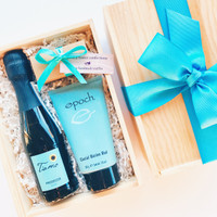 Champagne and Chocolate Spa Box