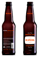 M. Special American Lager.