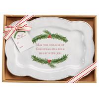Christmas Wish Serving Platter