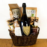 Dom Perignon Celebration Basket.