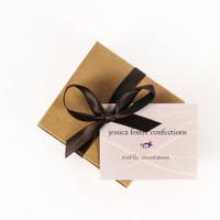 Jessica Foster's Handmade Chocolate Truffles.