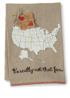 It's Really Not That Far Love Tote