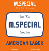 M.Special American Lager Six Pack