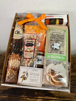 Cozy Holiday Celebration Crate with Champagne