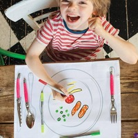 Meal Time Fun Placemat To Go