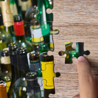 Wine Time Puzzle 1,000 Pieces
