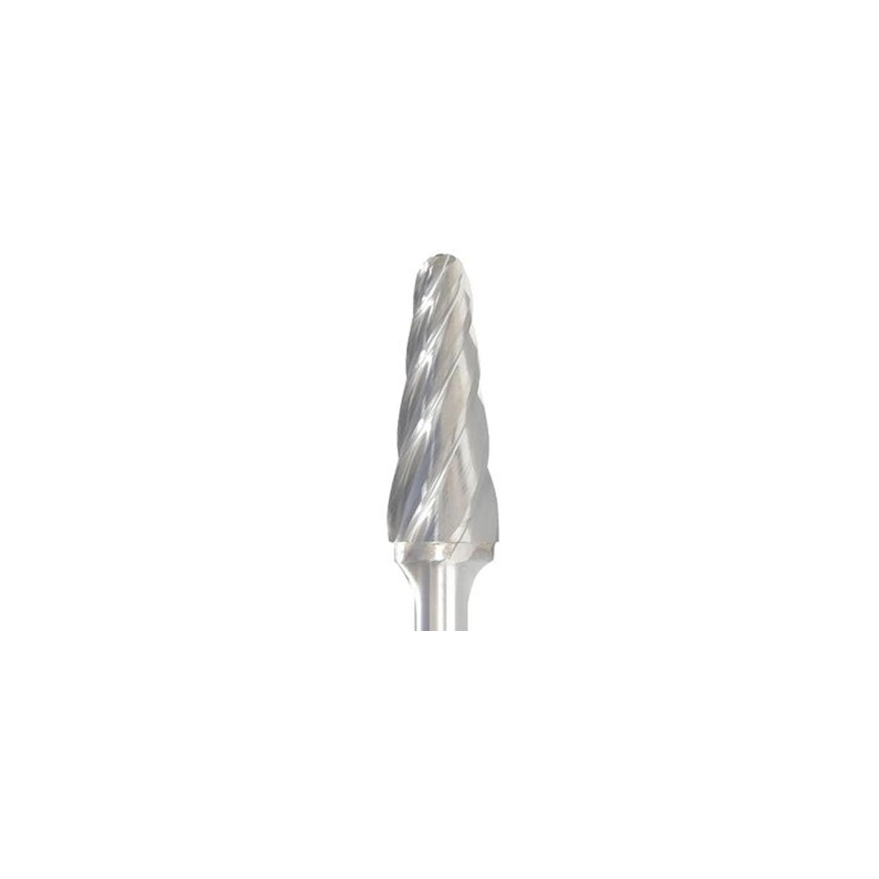 SE-1NF 1//4 x 1//4 x 3//8 x 2 Carbide Burr Egg Shape Aluminum Cut