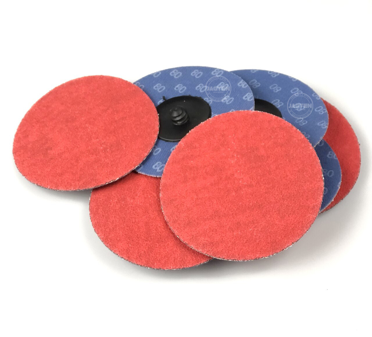 "100 Pack 2/"" Inch 60 Grit Ceramic Quick Change Sanding Discs Type R Roloc"