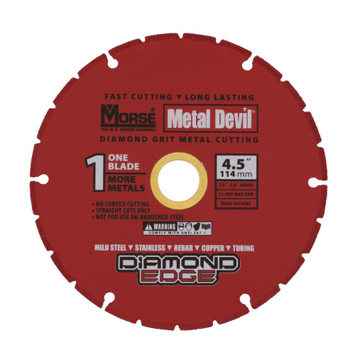 Morse Metal Devil Cut Wheel