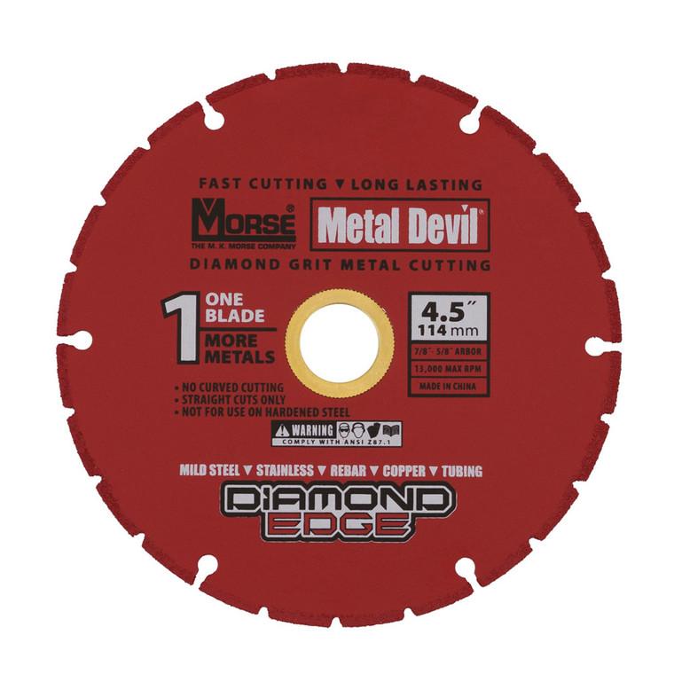 Morse Metal Devil Cut Wheel