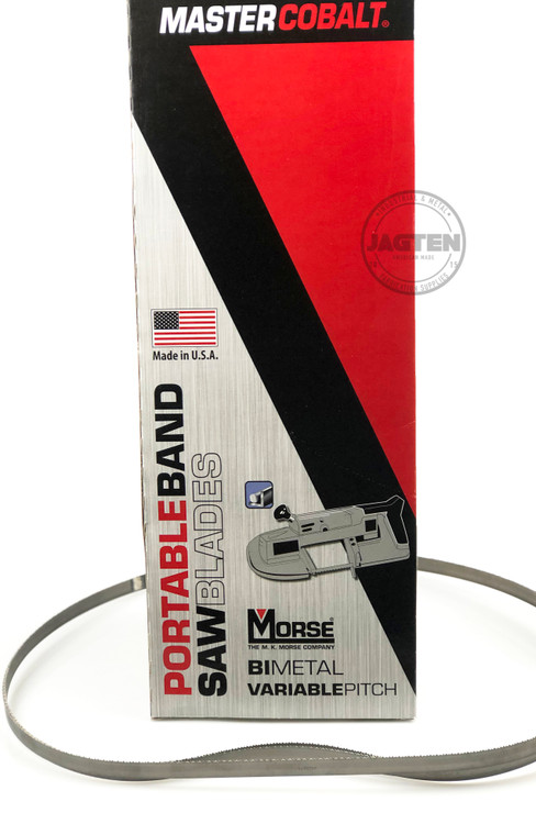 M.K Morse Portable Band Saw Blade, 44-7/8in 3-Pack