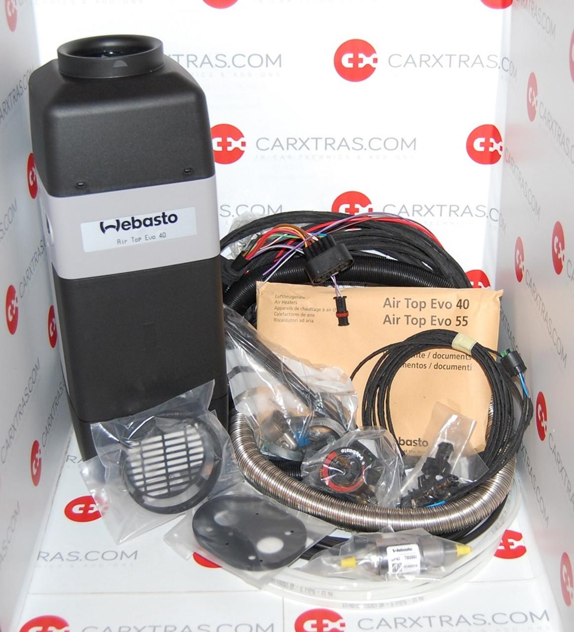 New Webasto Air Top 40 Evo 12v 4 0 Kw Diesel Interior Air Heater Carxtras
