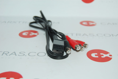 Line out AUX in adapter Audi VW Seat Skoda BMW 0341