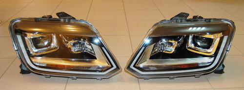 NEW VW AMAROK BI XENON LED HEADLIGHTS 2H1941015 AF 2H1941016 AF