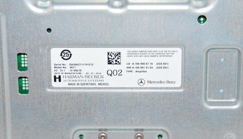NEW OEM MERCEDES BENZ ML W166 GL X166 SL R231 SOUND SYSTEM AMPLIFIER  A1669006710
