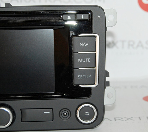 NEW OEM RNS 315 GPS NAVIGATION LATEST V4 AU NZ MAPS VW AMAROK CADDY  TRANSPORTER