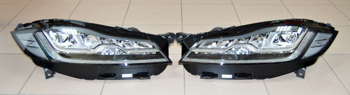 NEW OEM JAGUAR XF X260 F-PACE X761 LHD FULL LED HEADLIGHTS RIGHT LEFT