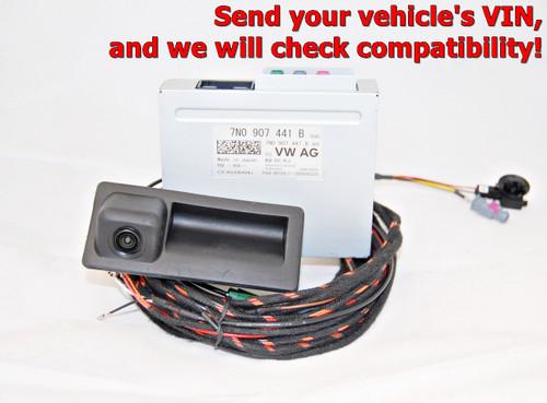 NEW GENUINE VW TIGUAN 5N RVC REAR HIGH LINE CAMERA KIT 7N0907441 B