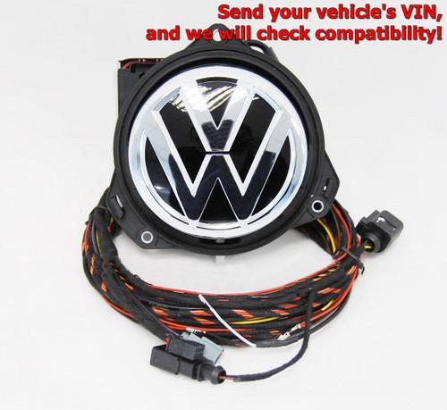 NEW GENUINE VW GOLF 7.5 2017- REAR VIEW CAMERA RVC LOGO EMBLEM BADGE 5G0827469R