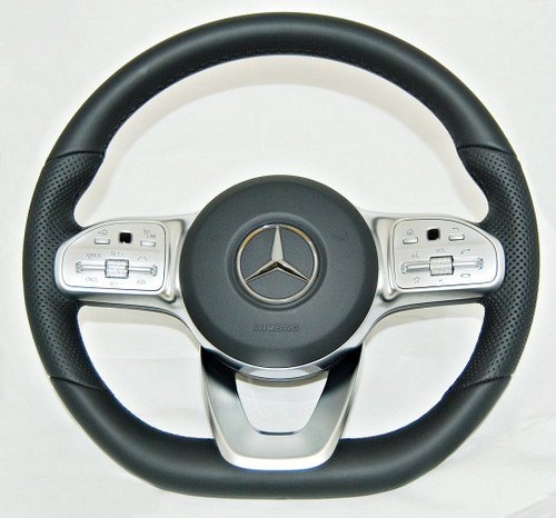 NEW GENUINE MERCEDES BENZ C118 W222 W205 W213 SPORT STEERING WHEEL A0004604302