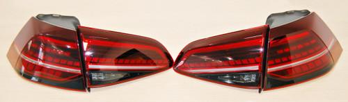 NEW GENUINE VW GOLF 7.5 2017- eGOLF 2014- RHD FULL LED REAR TAIL LIGHT KIT