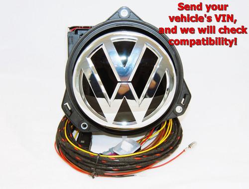 NEW GENUINE VW GOLF 7.5 eGOLF REAR VIEW CAMERA RVC LOGO EMBLEM BADGE 5G0827469Q