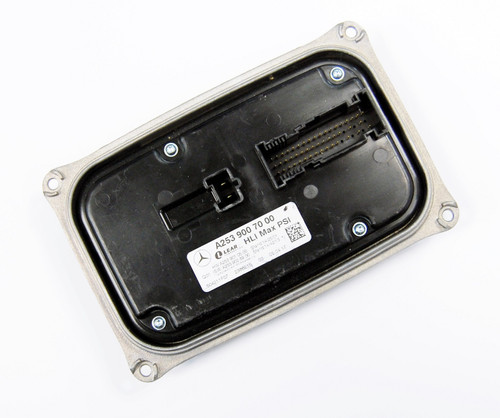 NEW OEM MERCEDES BENZ GLC CLASS LED HEADLIGHT RANGE ADJUSMENT CONTROL UNIT LEFT A2539007000