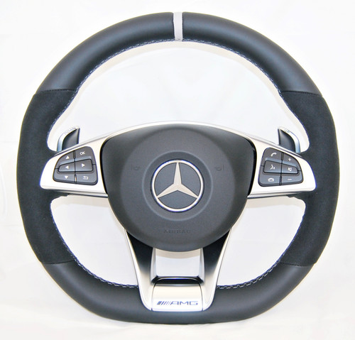 NEW GENUINE MERCEDES BENZ AMG W166 C292 M117 W176 W218 R172 R231 STEERING WHEEL A1664601618