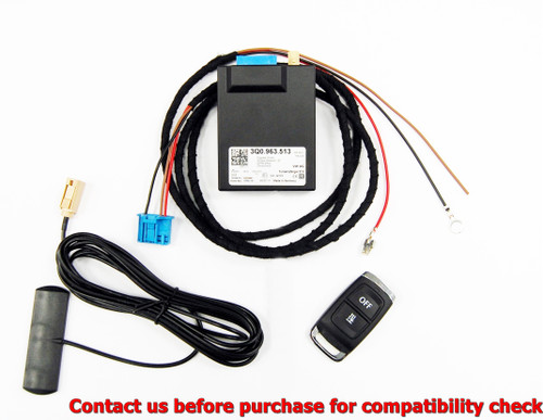 NEW OEM Webasto Heater Telestart STH 3Q0963513 kit with VW remote Audi Seat Skoda 3G0963511 3G0963511