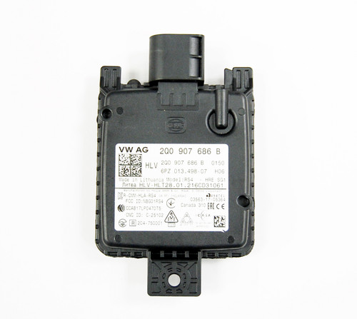 NEW OEM AUDI VW SEAT SKODA BLIND SPOT DETECTION CONTROL UNIT RIGHT 2Q0907686B