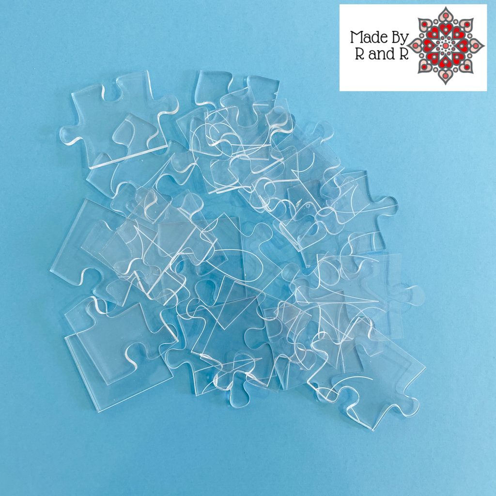 We Miss You 25-piece Acrylic Puzzle