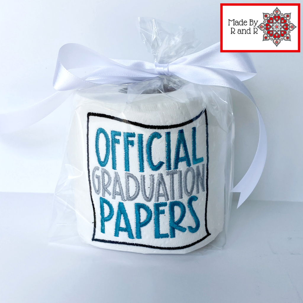 Official Graduation Papers