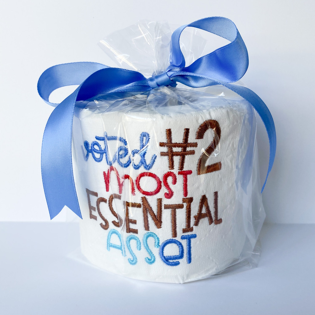 Voted #2 Most Essential Asset Toilet Paper