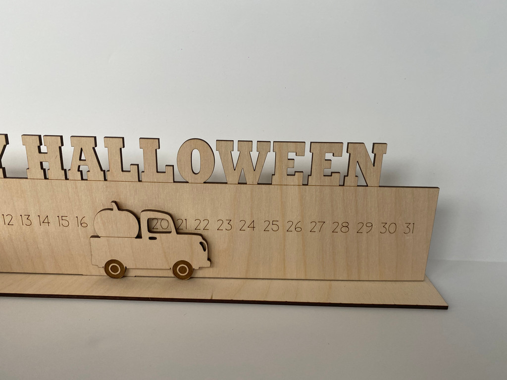 Happy Halloween Truck Sign  ***Digital Laser Cut File Only***