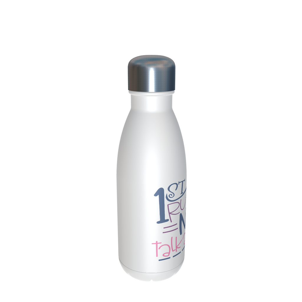 1st Rule of 2021 Never Talk About 2020 Water Bottle/Thermos