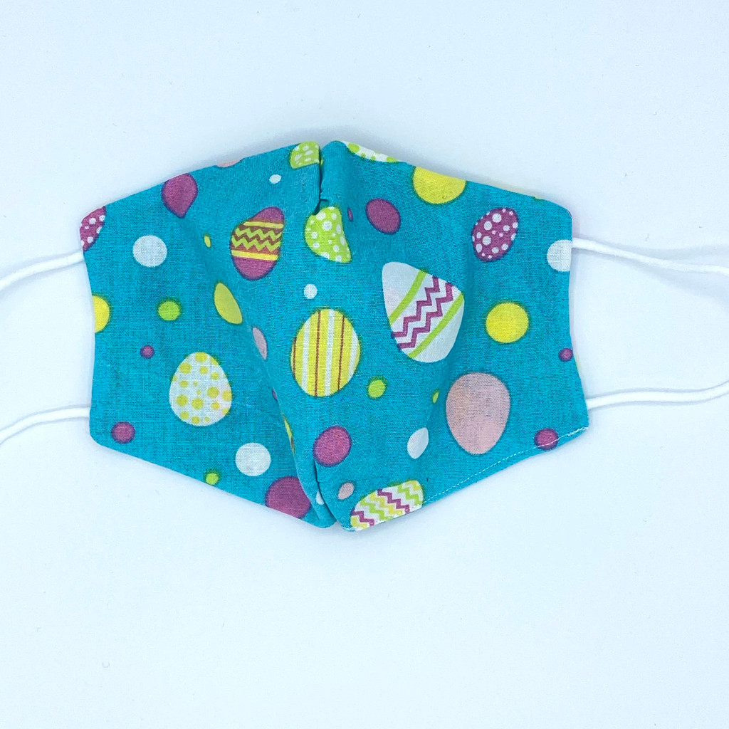 Easter Egg Mask, 100% cotton, 3 Layers