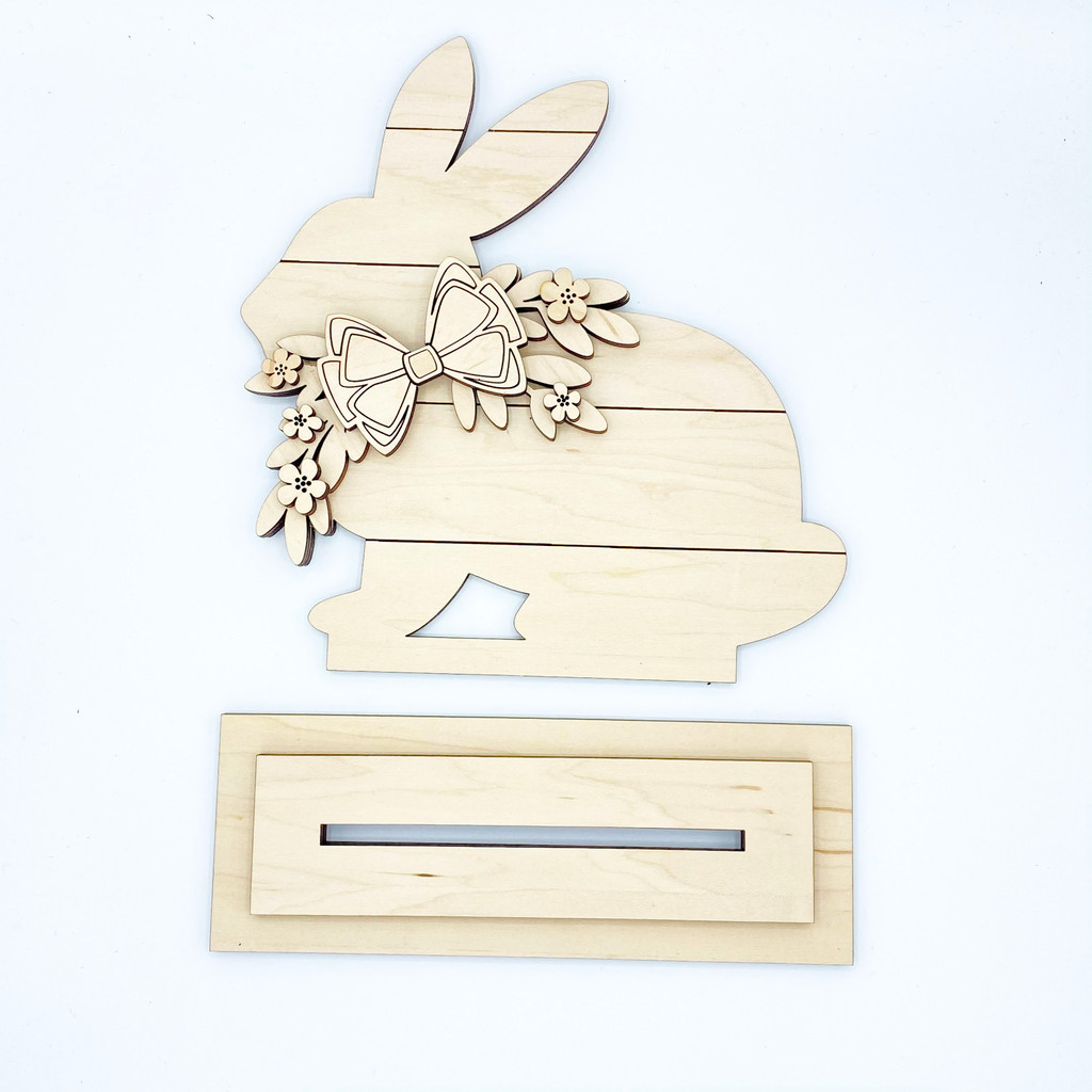 Bunny Wood Cut Out