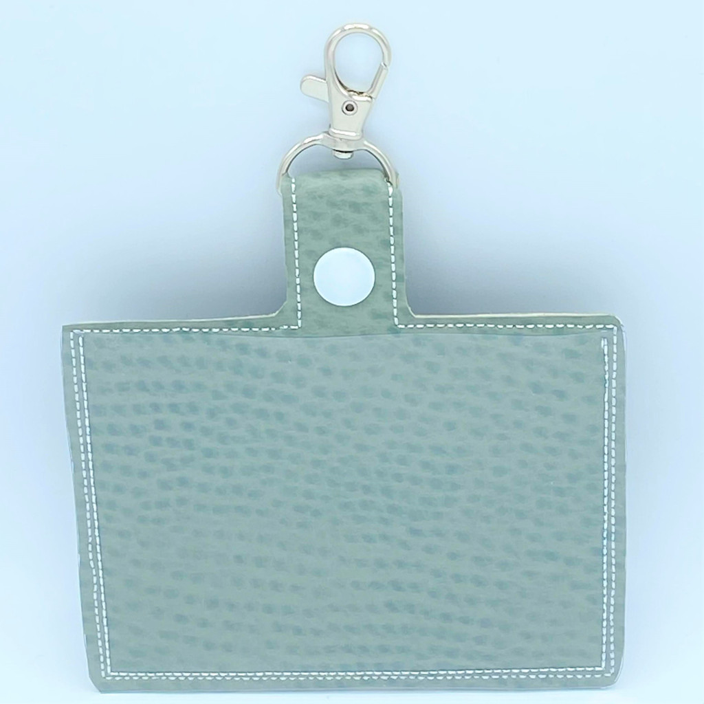 Vaccine Card Holder Keychain with Clip